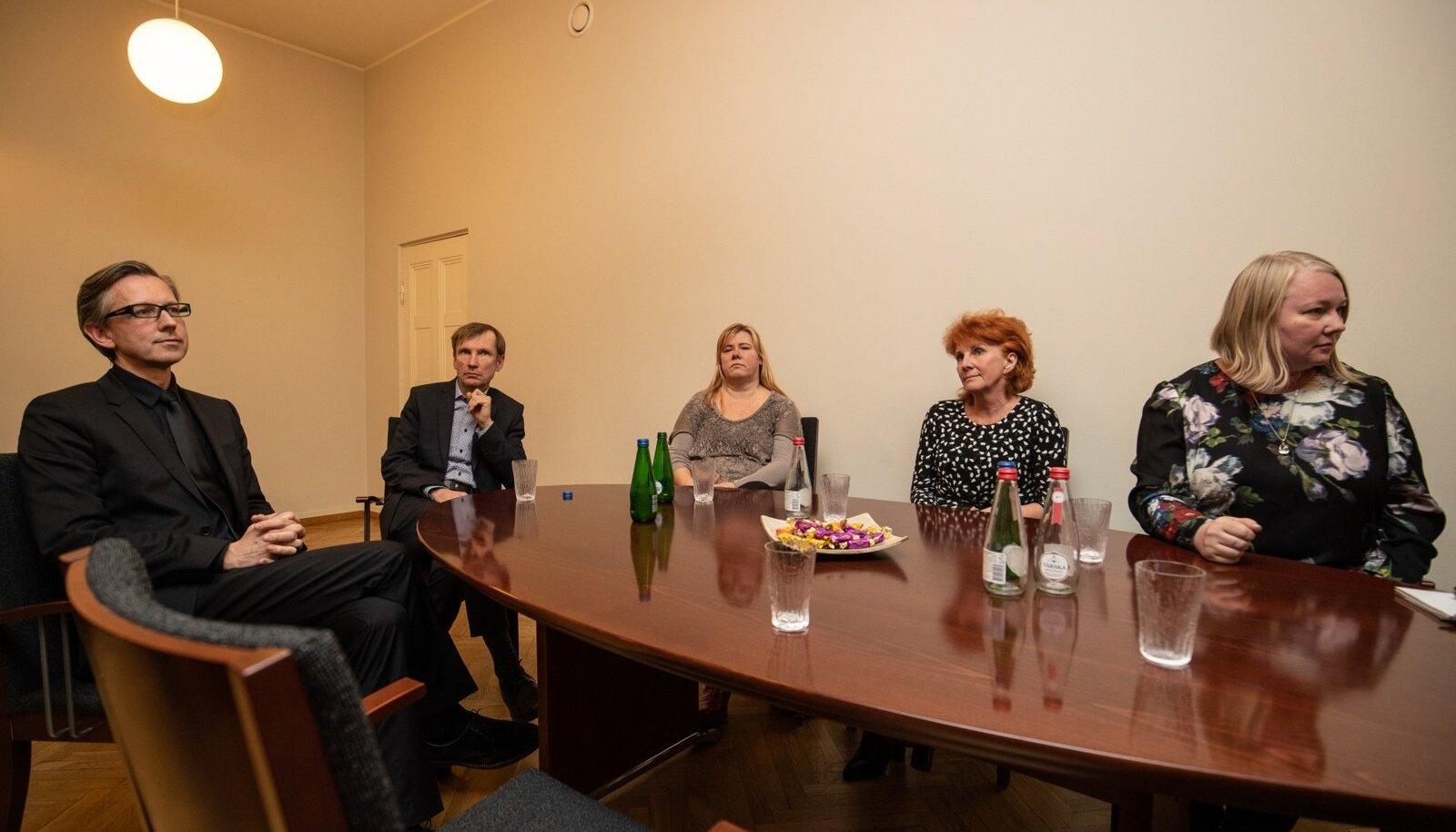Indrek Saar kohtus Eesti Kontserdi nõukoguga