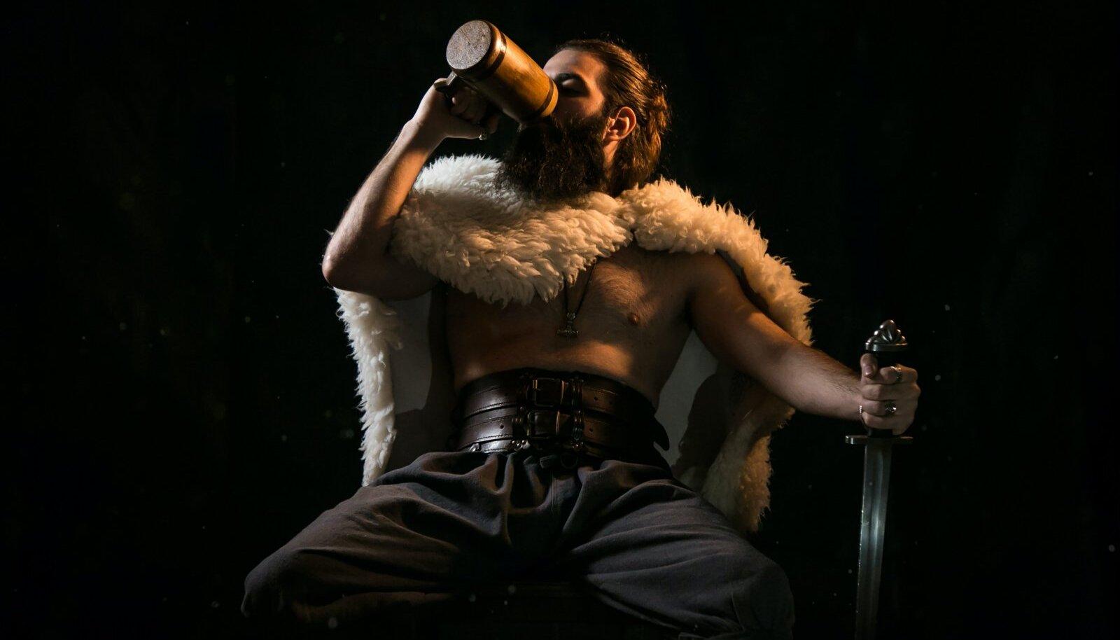 Illustratiivne pilt viikingist (Foto: Unsplash.com / Gioele Fazzeri)