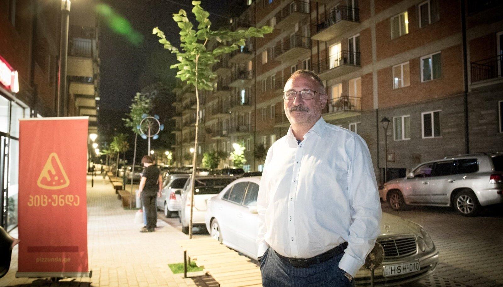 Marcel Vichmann võib rahul olla: Jikija kortermajade arendus on õnnestunud ja investeering end ära tasunud.