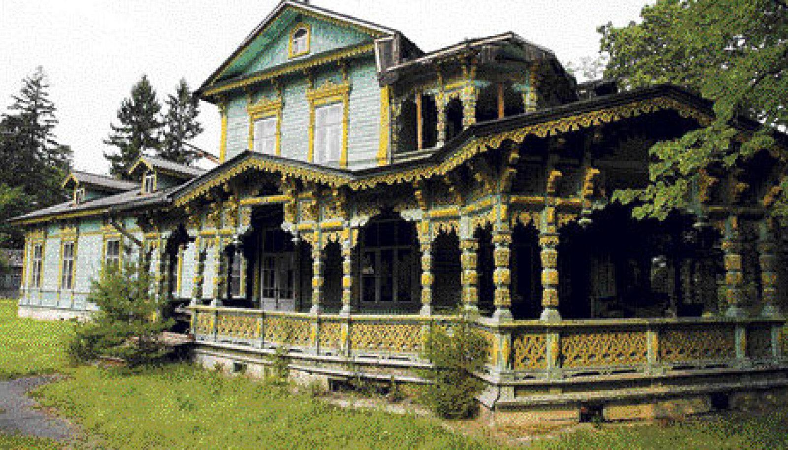 Kunagi puhkas Narva-Jõesuu kaunites villades palju kultuuriinimesi. Ühes säärases veetis oma suvesid ka vene kirjanik Ivan Gontšarov.