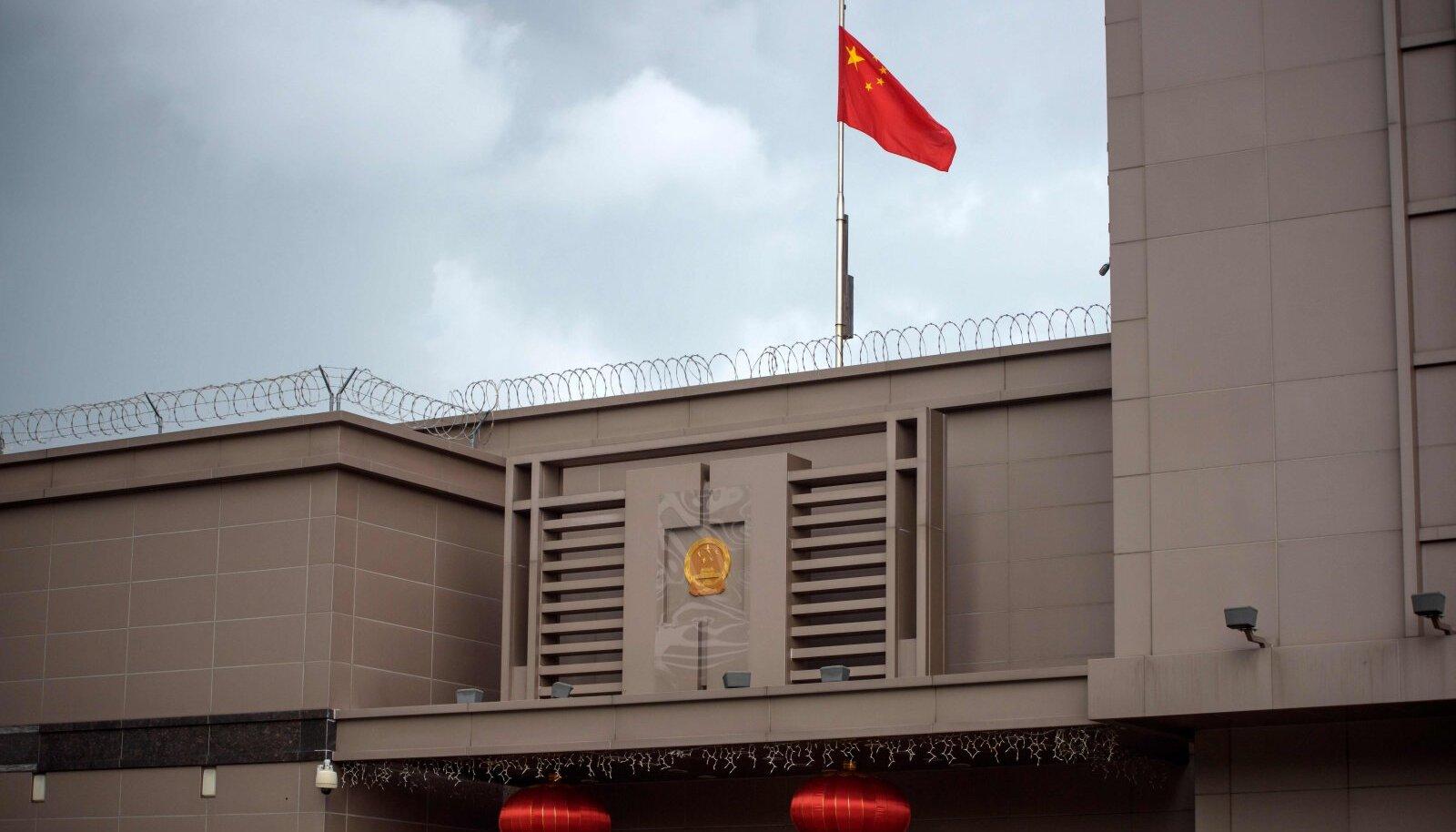 Hiina konsulaat Houstonis