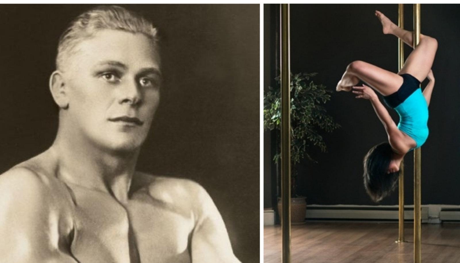 Vasakul: Kristjan Palusalu. Paremal: postitantsija