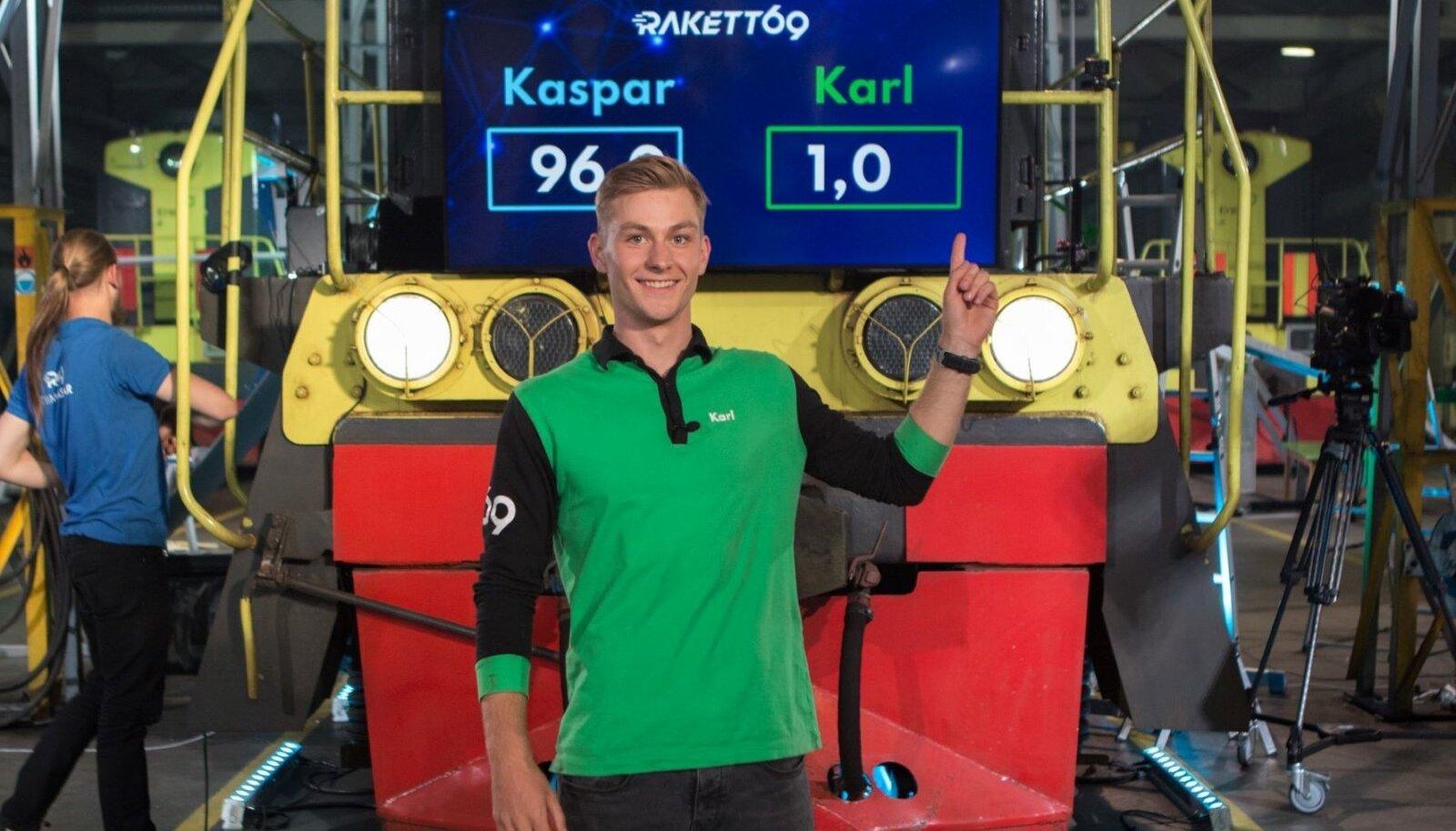 """Karl Mell - tänavune """"Rakett 69"""" võitja!"""