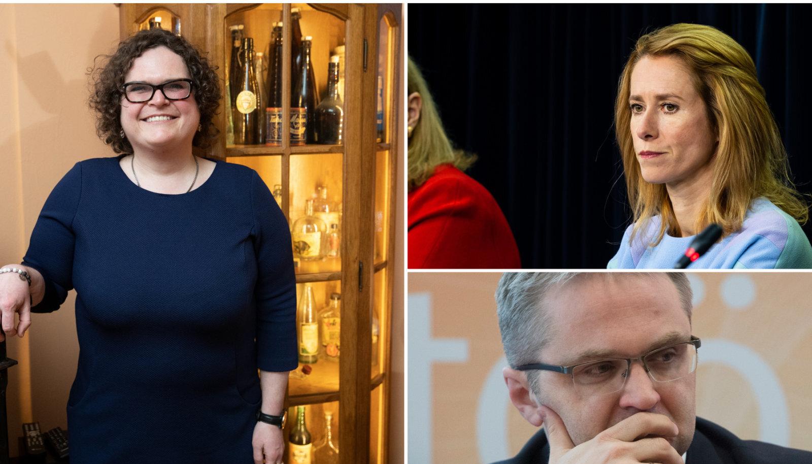 Kadri Paas / Kaja Kallas / Janar Holm