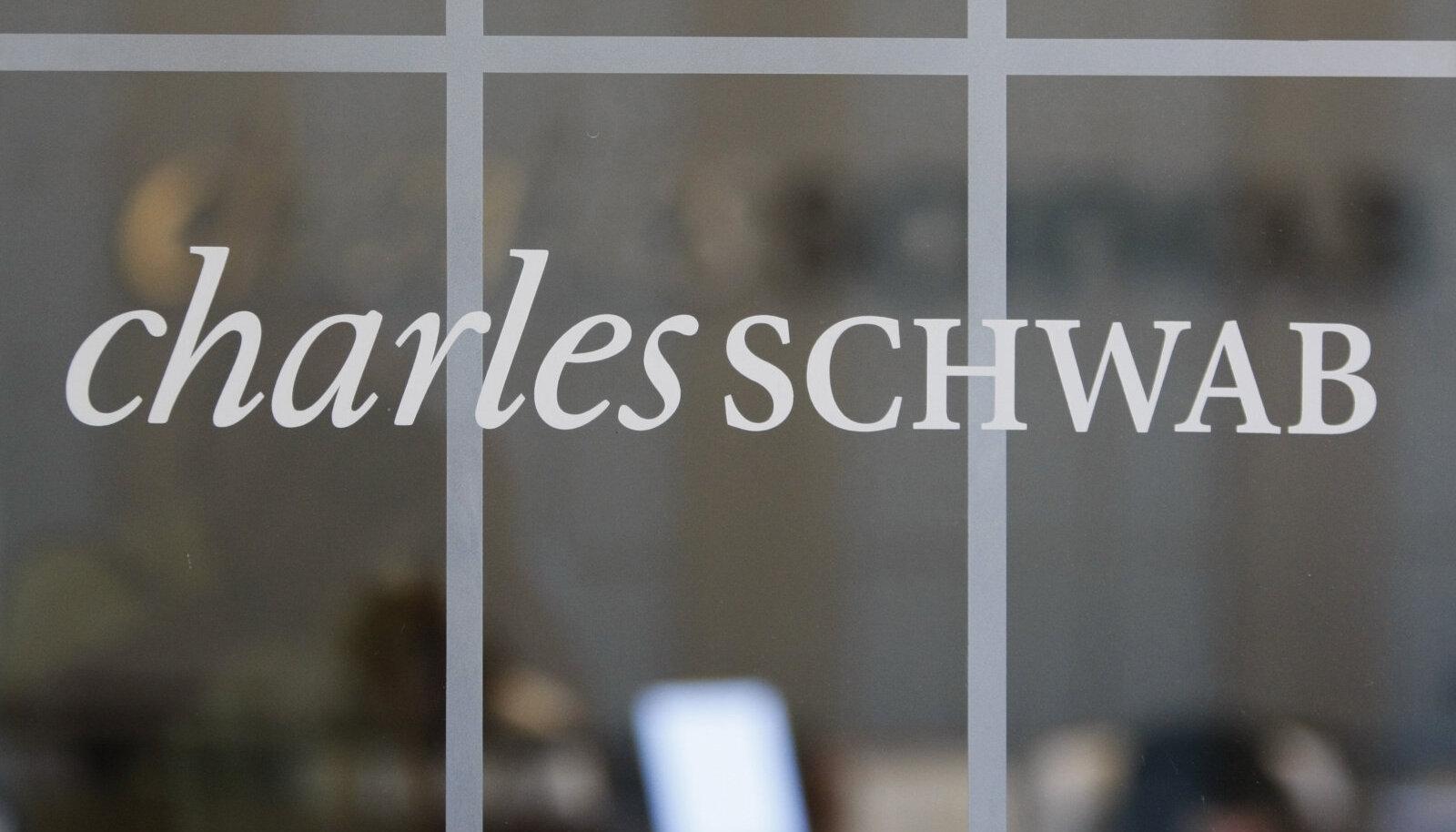 USA aktsimaaklerfima Charles Schwab