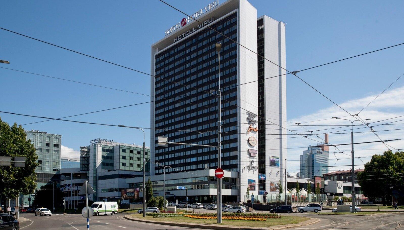 Tallinna vaated, Viru hotell