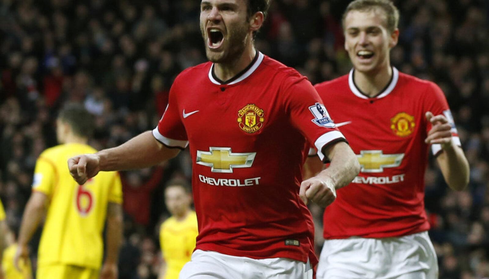 Juan Mata lõi 2:0