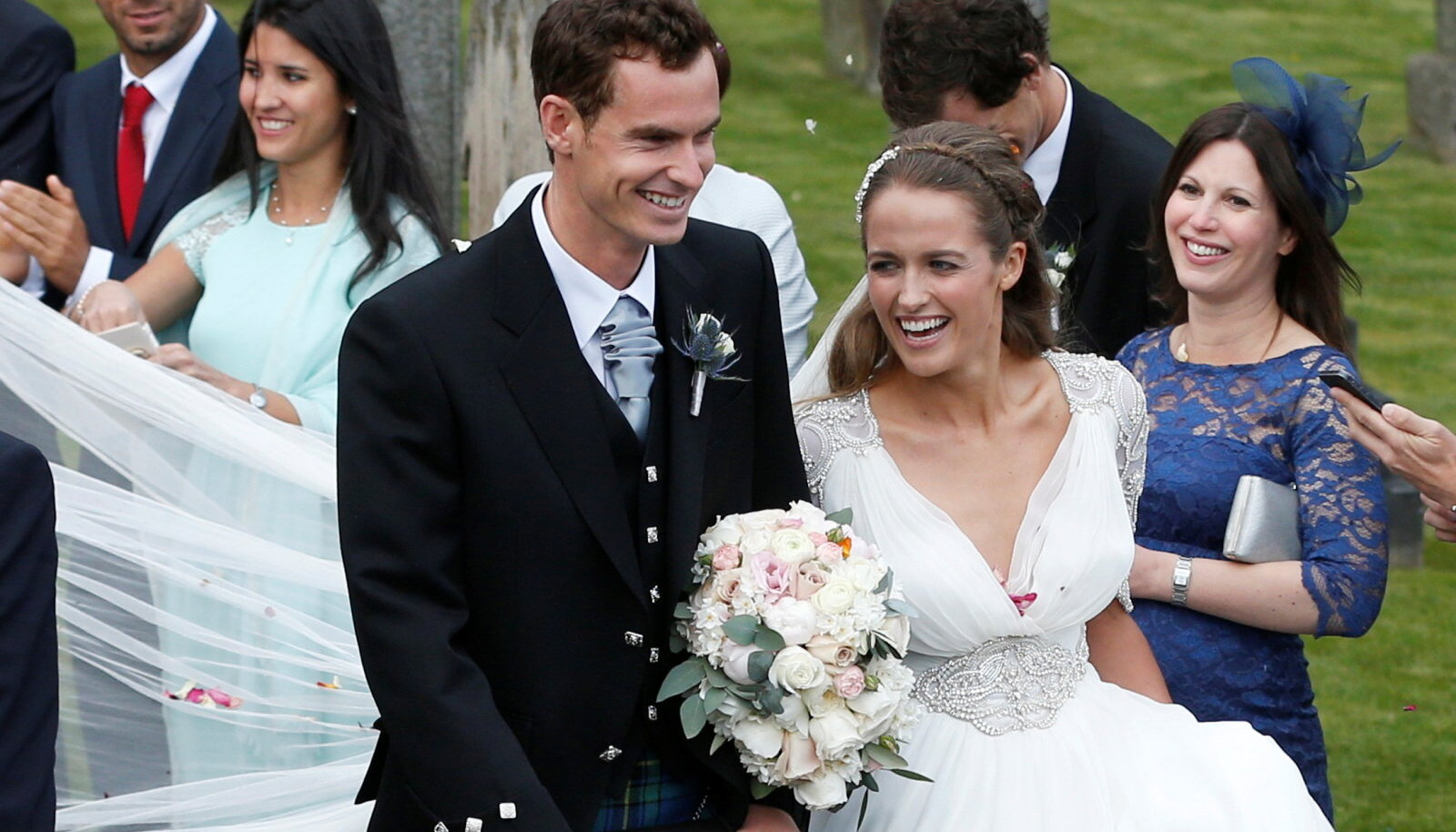Andy Murray ja Kim Searsi pulm Šotimaal