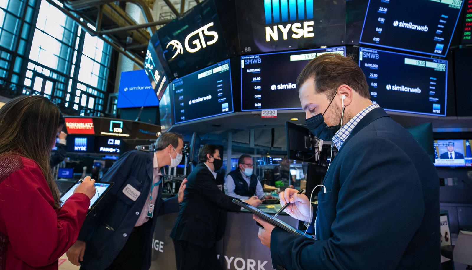 Inflatsioon varjutas eilset börsipäeva New Yorgi börsil