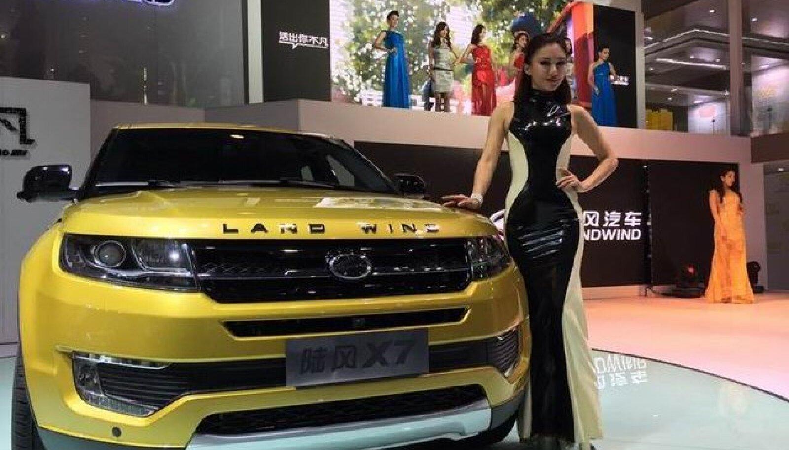 Range Rover Evoque'i Hiina kloon Landwind X7.
