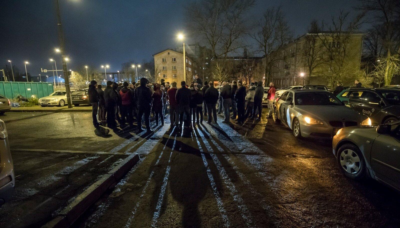 Taxify juhtide protestiaktsioon