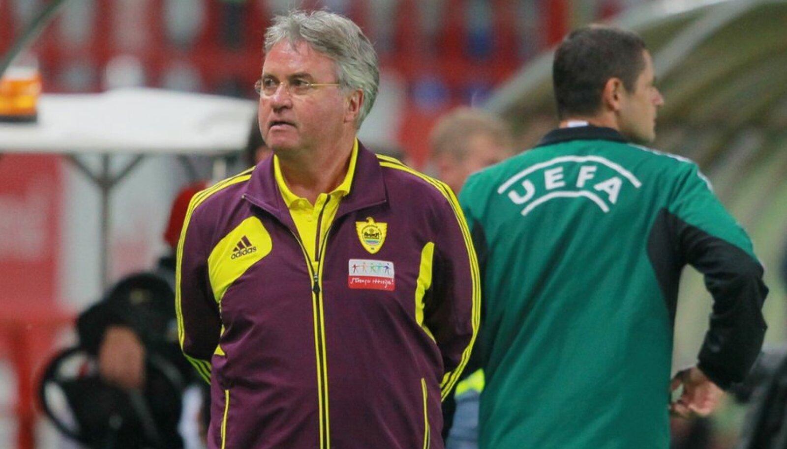 Anži peatreener Guus Hiddink võib hooaja algusega rahule jääda.