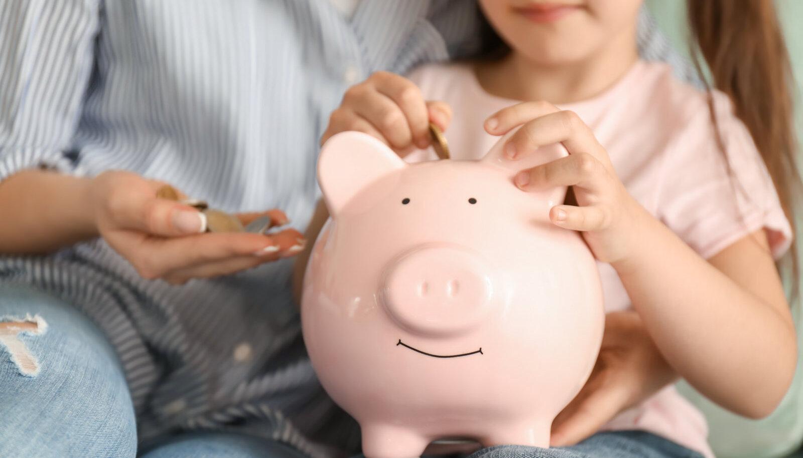Rahaasjadest lapsele