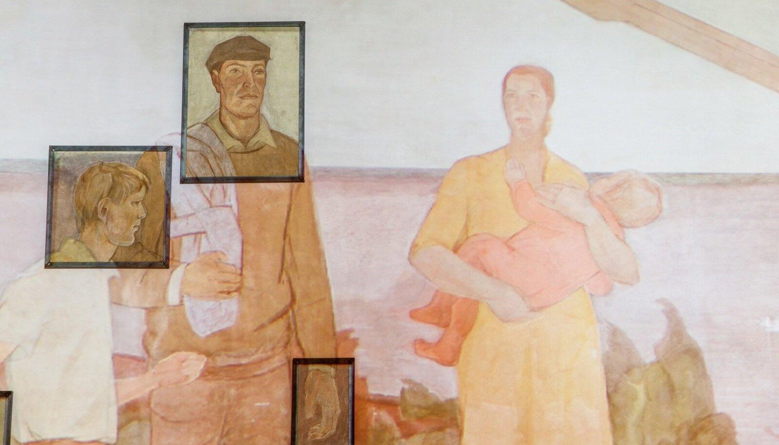 Dolores Hoffmani freskopannoo EKA galeriis