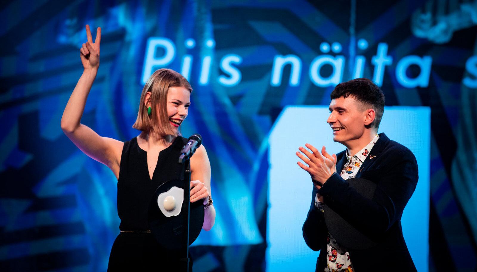 2019 võitjad Daniil Golubev ja Maria Rahamägi. Foto autor: Laura Oks.