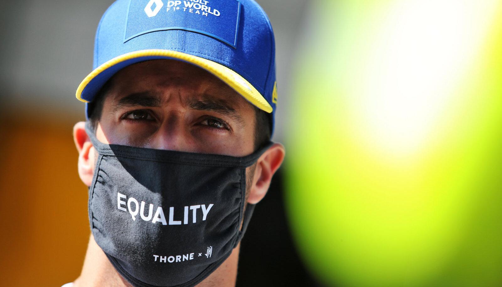 Daniel Ricciardo 27. septembril Venemaa GP-l.