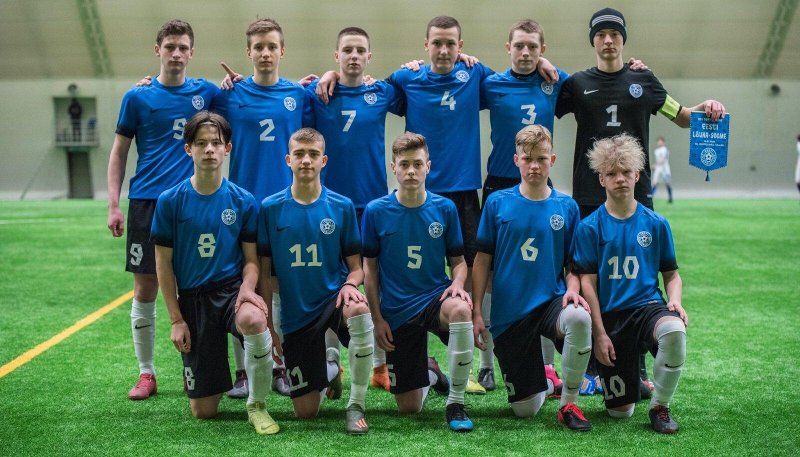 U16 jalgpallikoondis