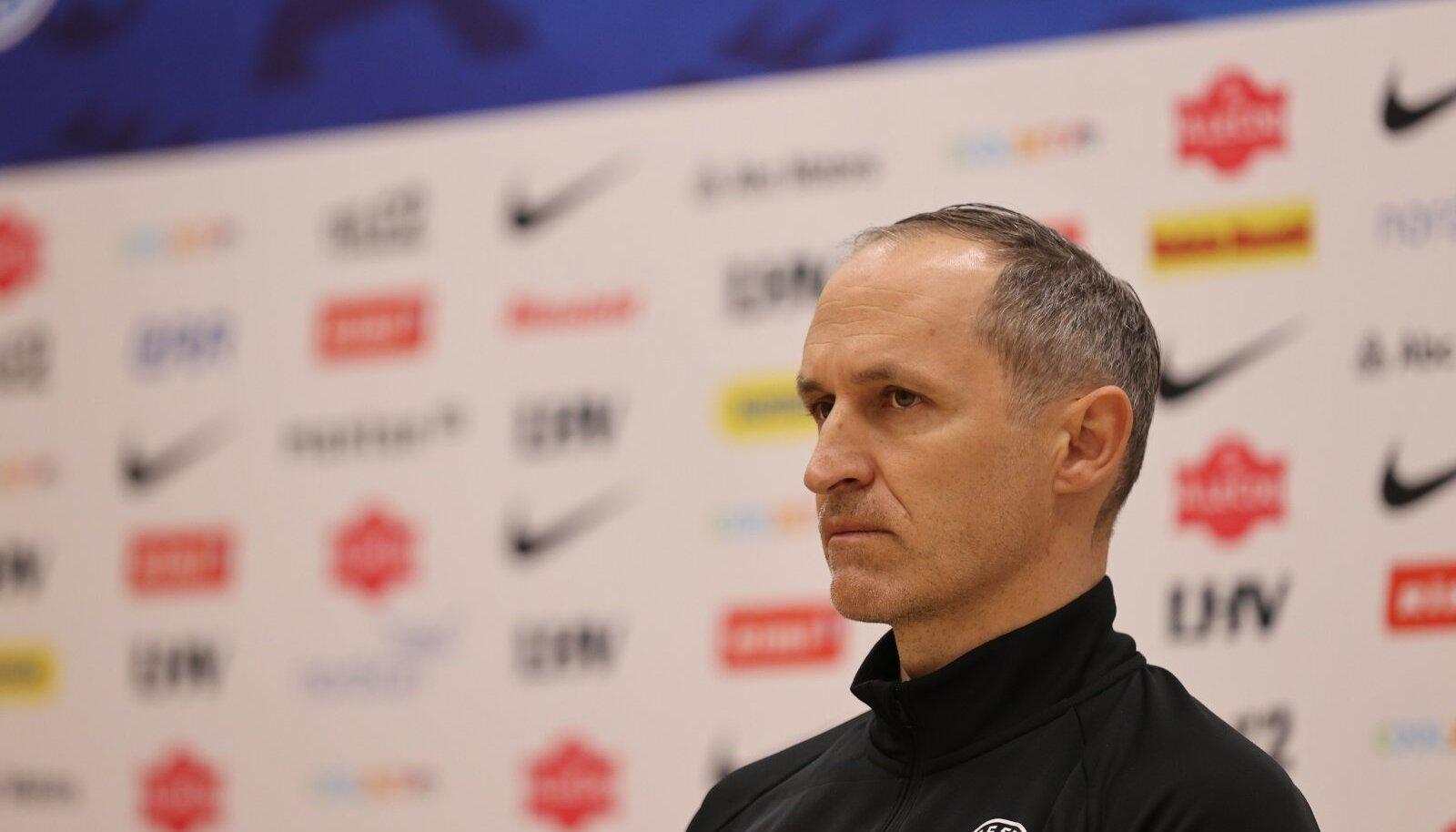 Eesti jalgpallikoondise peatreener Thomas Häberli.
