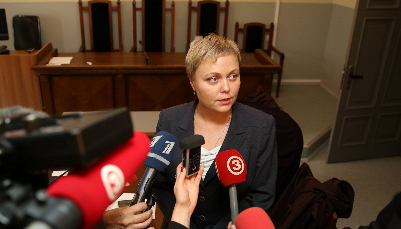 Oleg Ossinovski advokaat Jelena Kvjatovska Läti kohtus