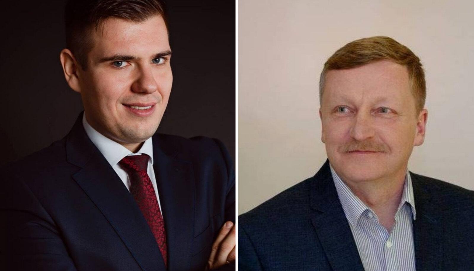 Jaanus Ratas ja Andrus Seeme