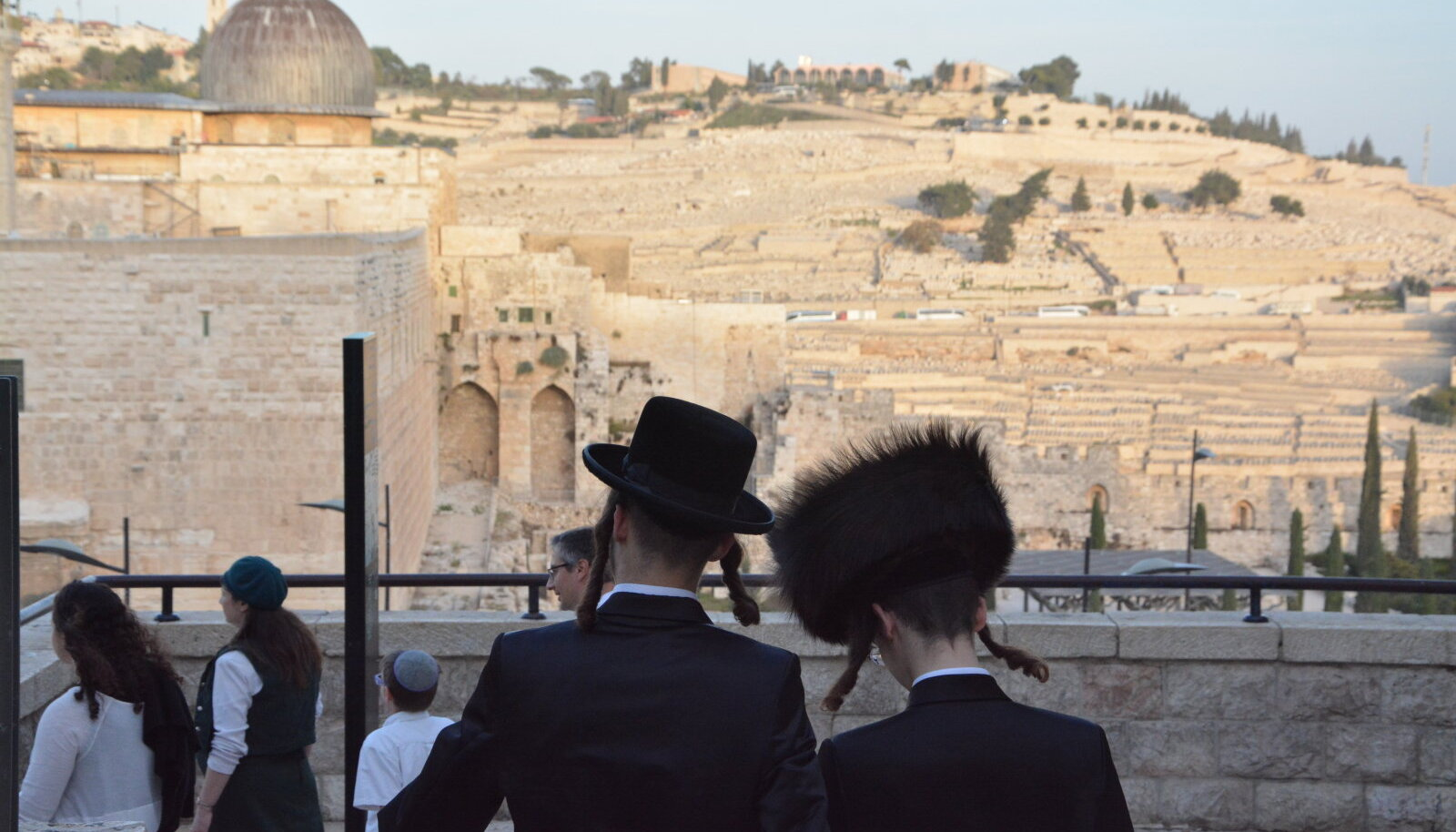 Ortodokssed juudid Jeruusalemmas.
