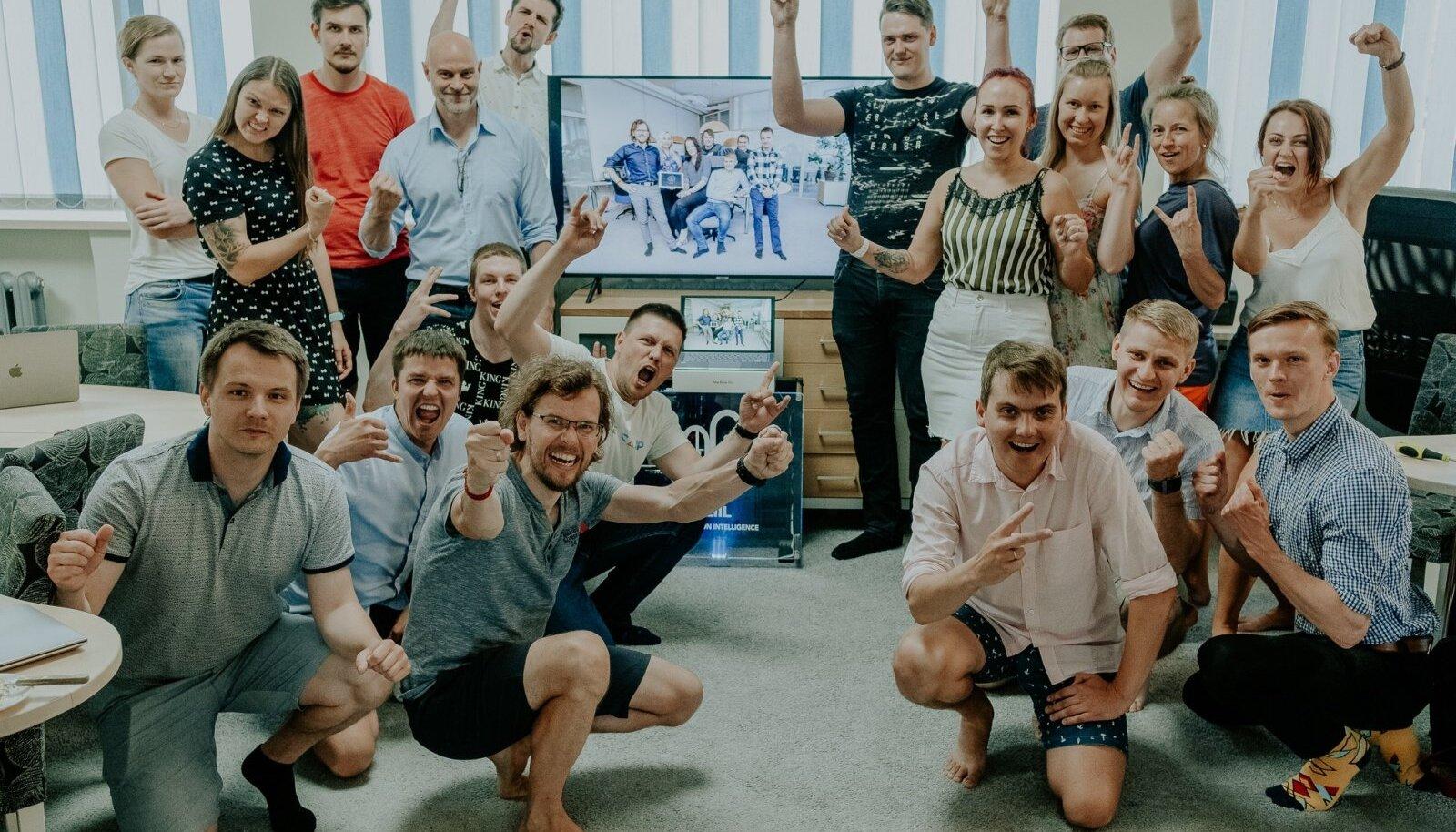 Neli aastat tagasi Viljandis asutatud Eziili meeskonnal on põhjust rõõmustamiseks.