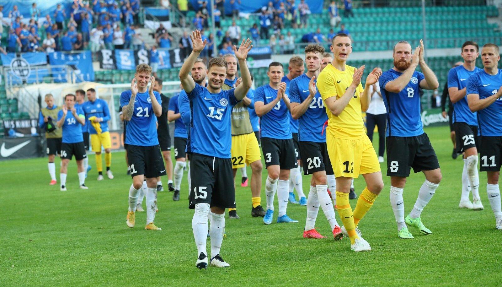 Eesti jalgpallikoondis võitis Balti karika!