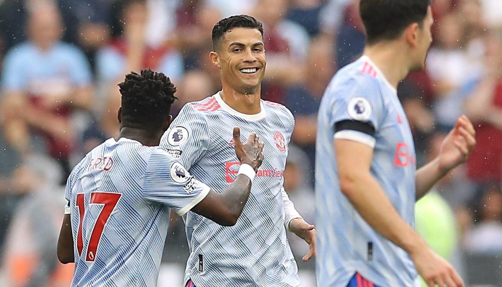 Cristiano Ronaldo tegi taas skoori.