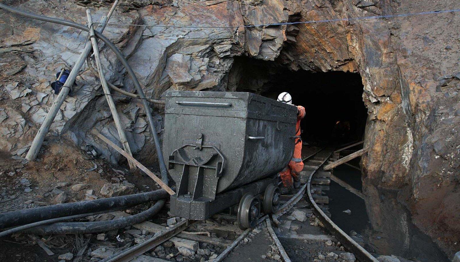 Boliivia tsingimaagi- ja hõbedakaevandus