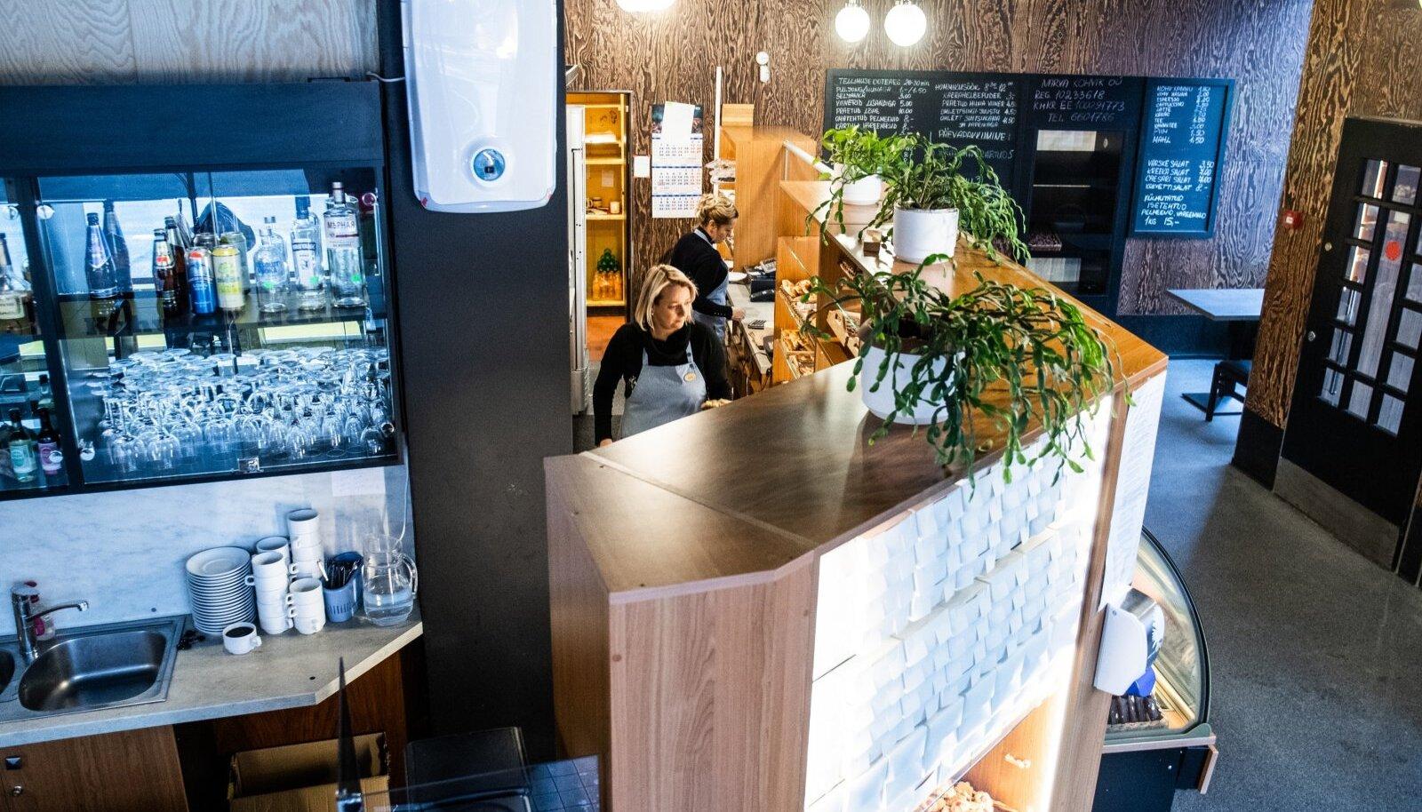 Kohvikut on aastate jooksul värskendatud, kuid suuri muudatusi ei ole taotluslikult tehtud. Ka koroonakevadel jõuti väike remont teha.