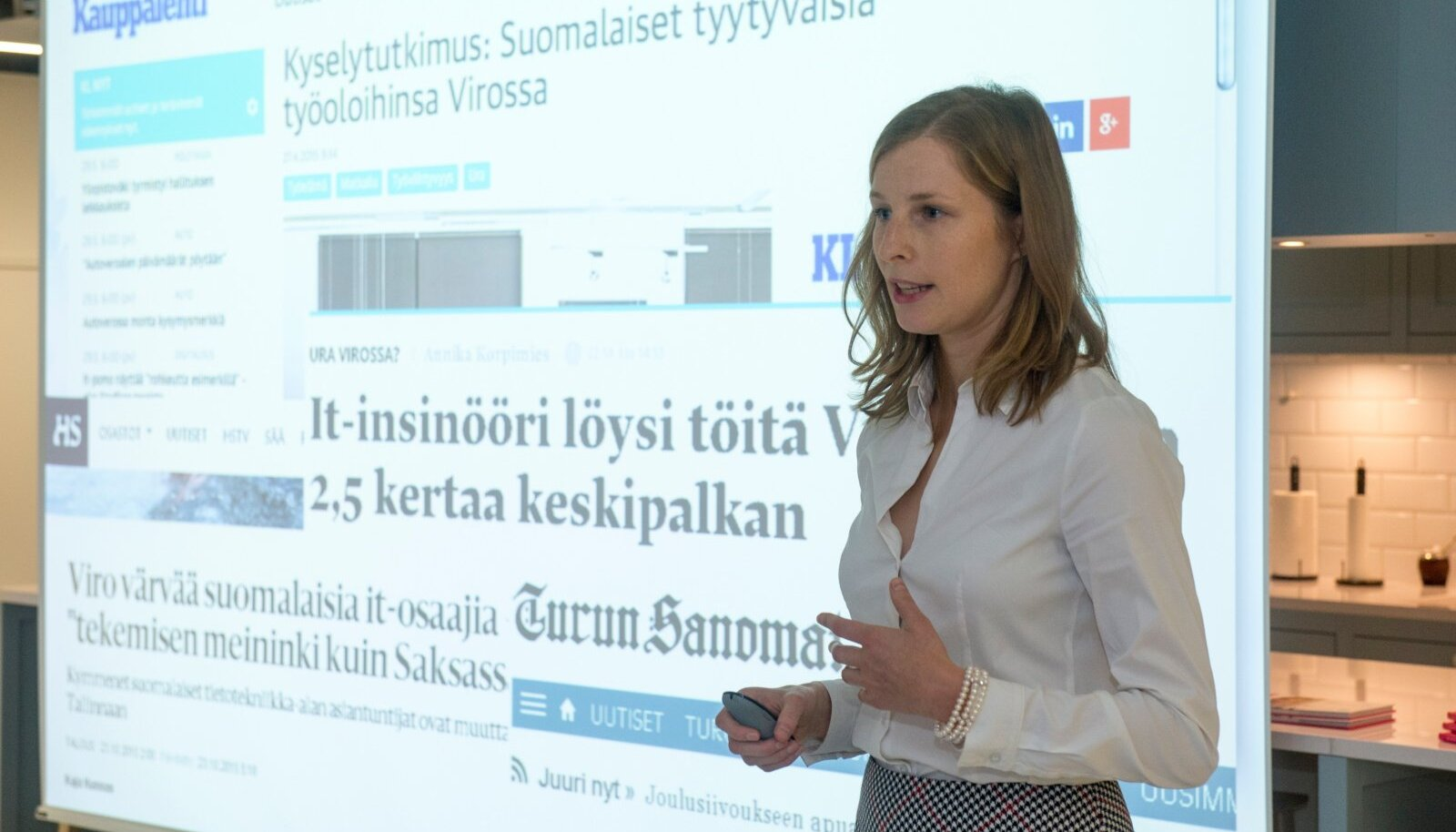 EAS tutvustab välisspetsialistide portaali Work in Estonia tulemusi