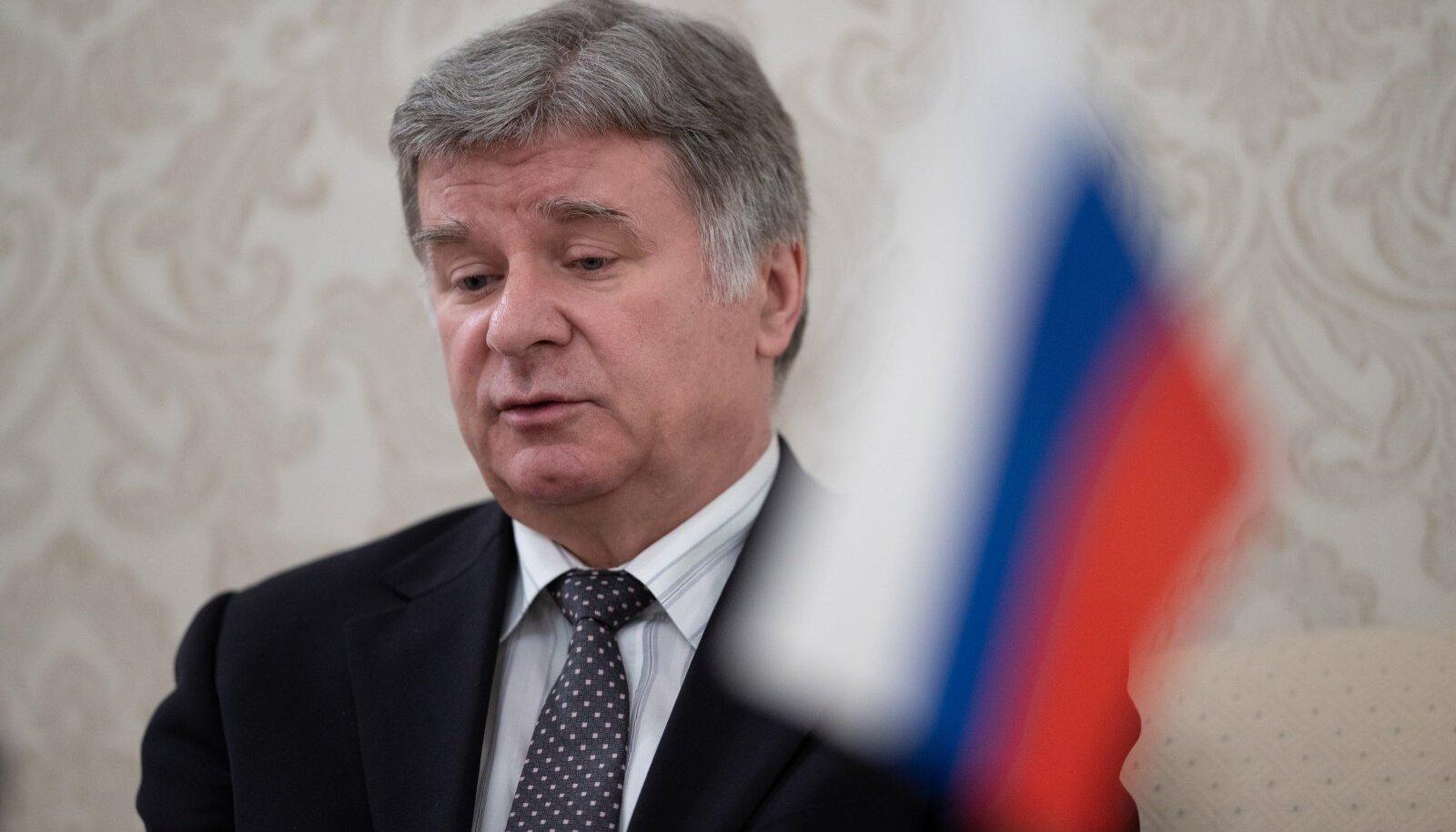 Посол России в Эстонии Александр Петров