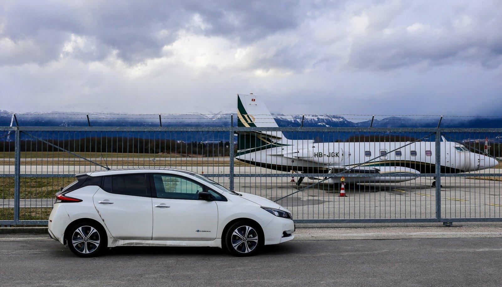 Elektriauto või lennuk, kumb on loodussõbralikum