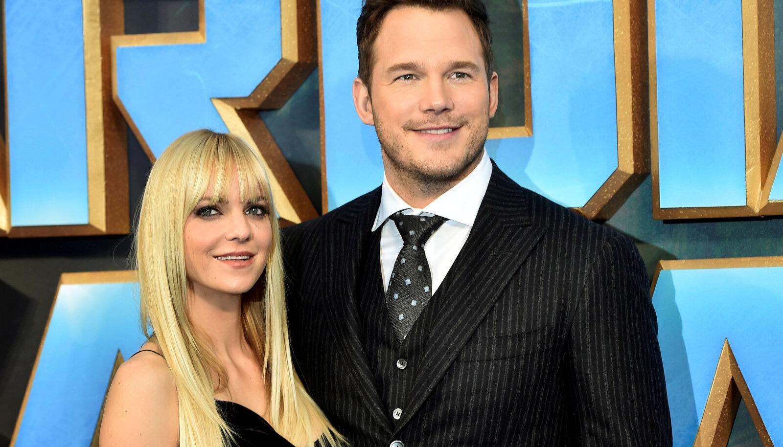 Anna Faris koos endise abikaasa Chris Prattiga