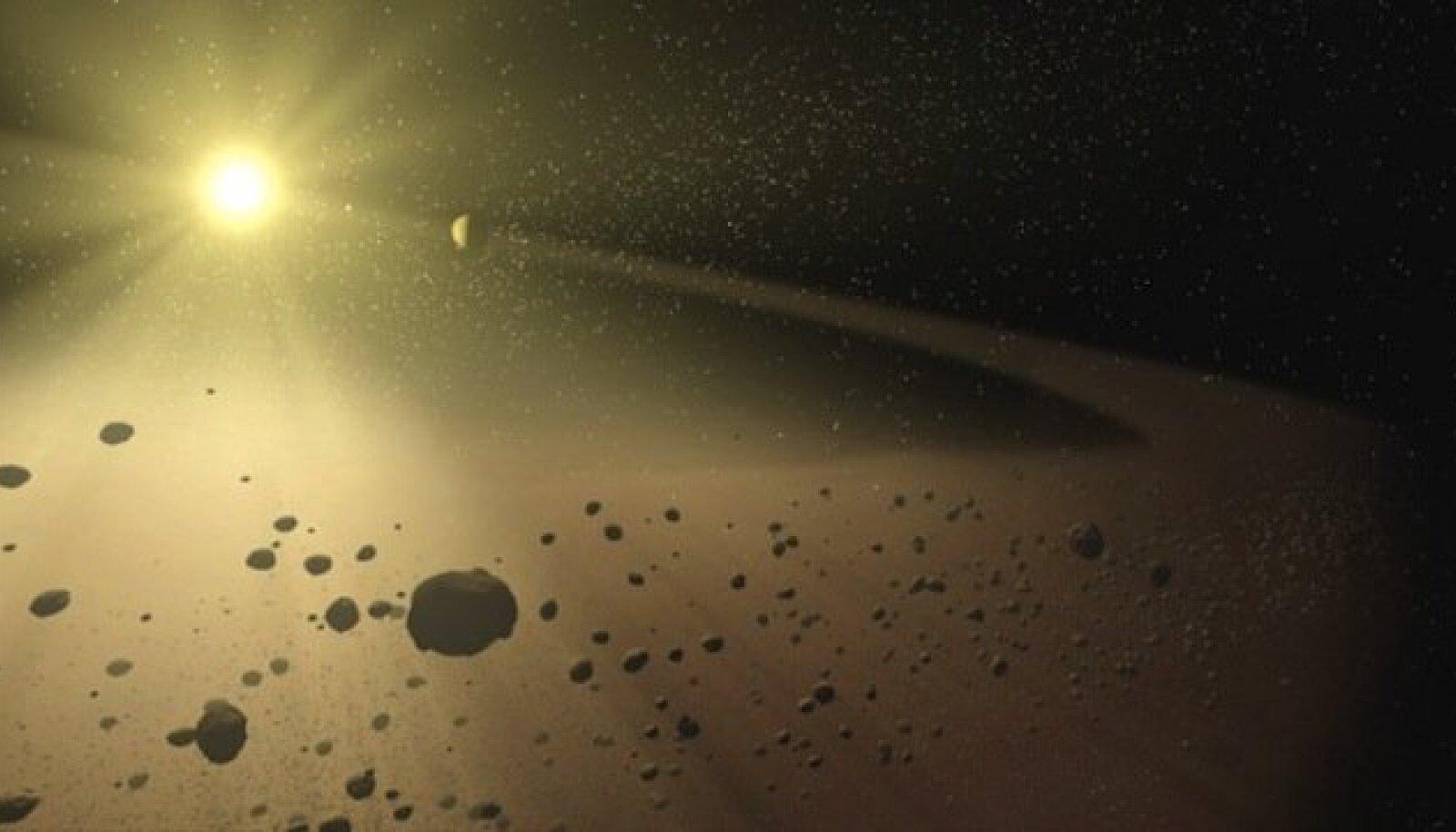 Asteroididevöö on üsna kivine paik. fastcompany.com