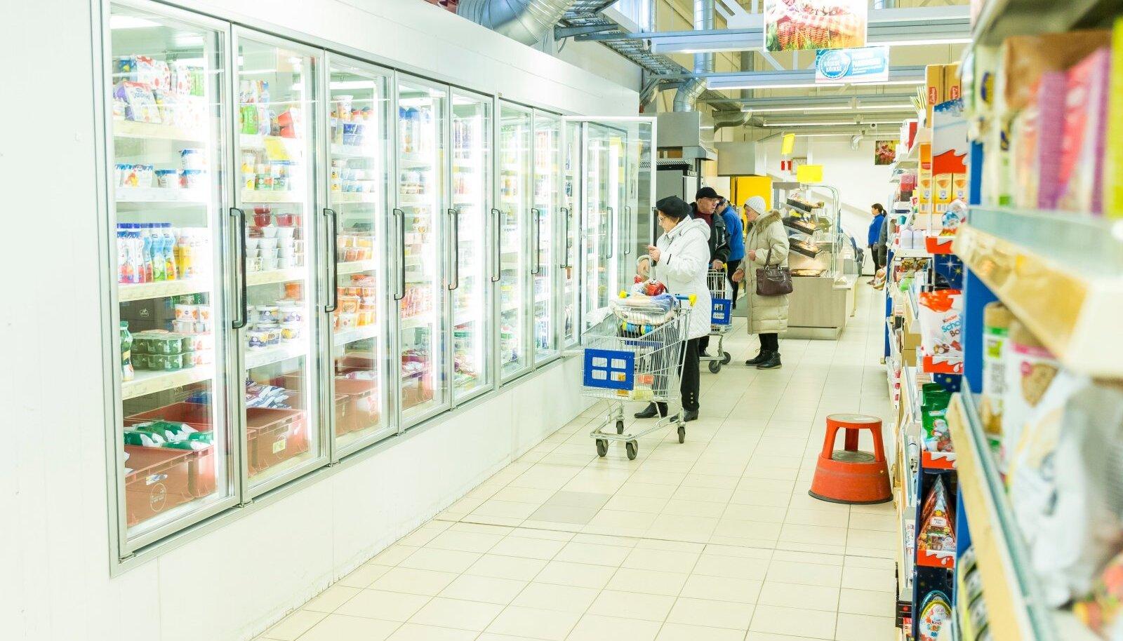 Piim ja piimatooted on kõigi toodete osas odavamad kui möödunud aastal.