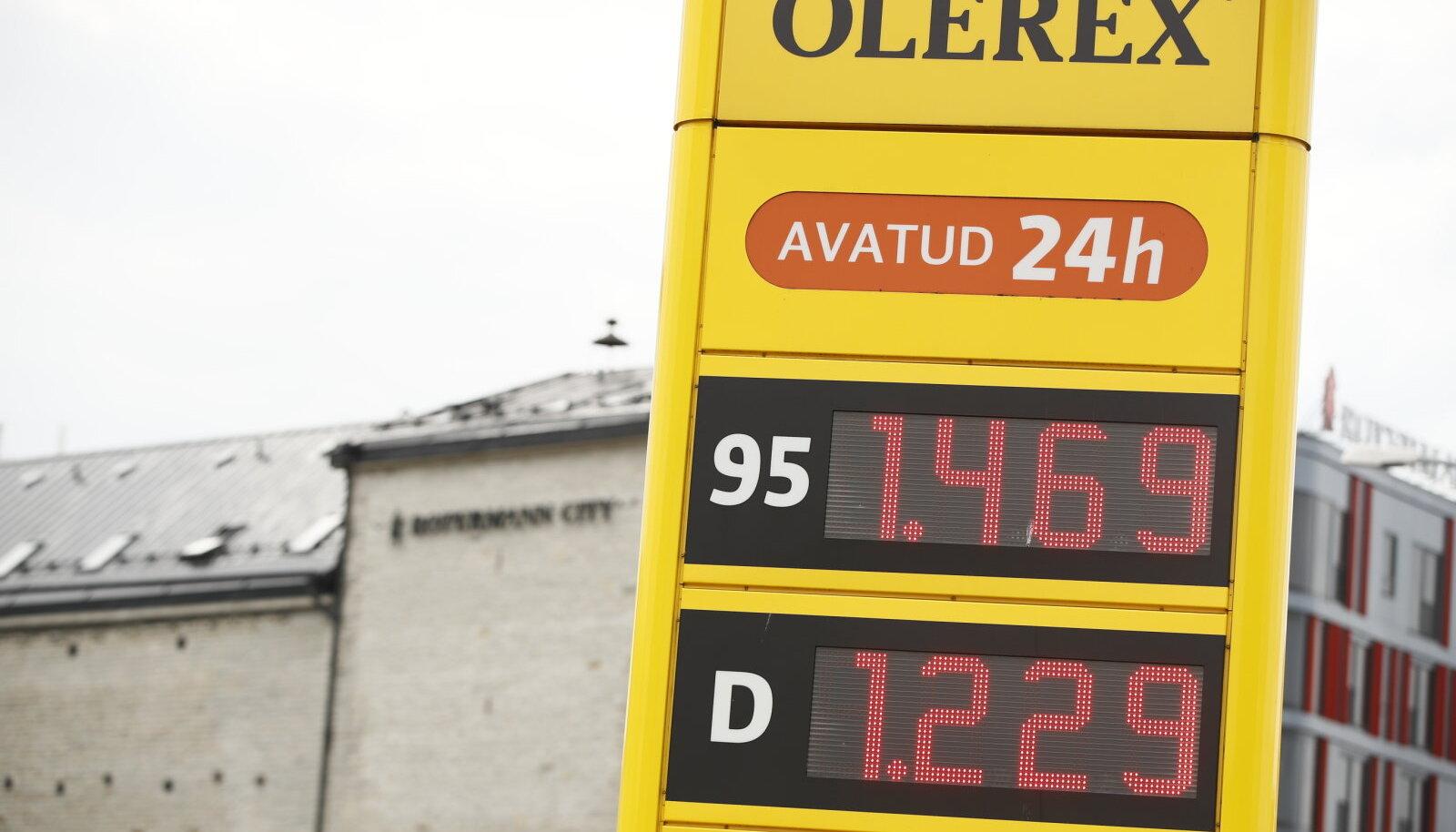 Kütuse hinnad 05.07.2021