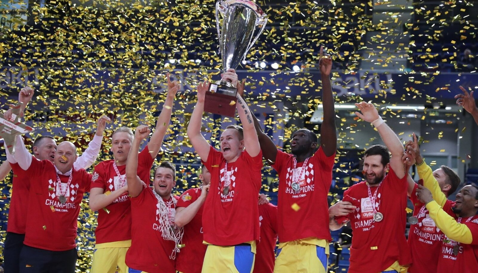 Eelmisel hooajal tuli Ventspils Eesti-Läti liiga ajaloo esimeseks võitjaks