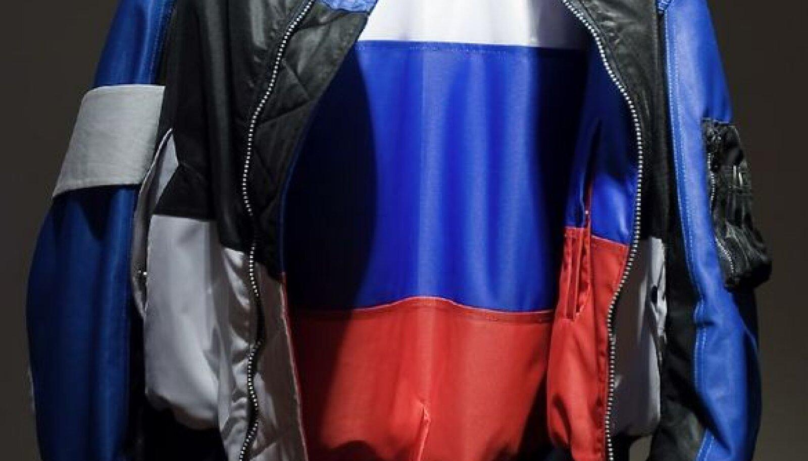"""ÄRGEM UNUSTAGEM: Putini-Medvedevi Venemaa ei ole kommunistlik, vaid läbinisti kapitalistlik ja rahvuslik totaalriik. Fotol Soome kunstnik John Philip Mäkineni pronksiööst inspireeritud teos """"Children of the Revolution"""" (2007)."""