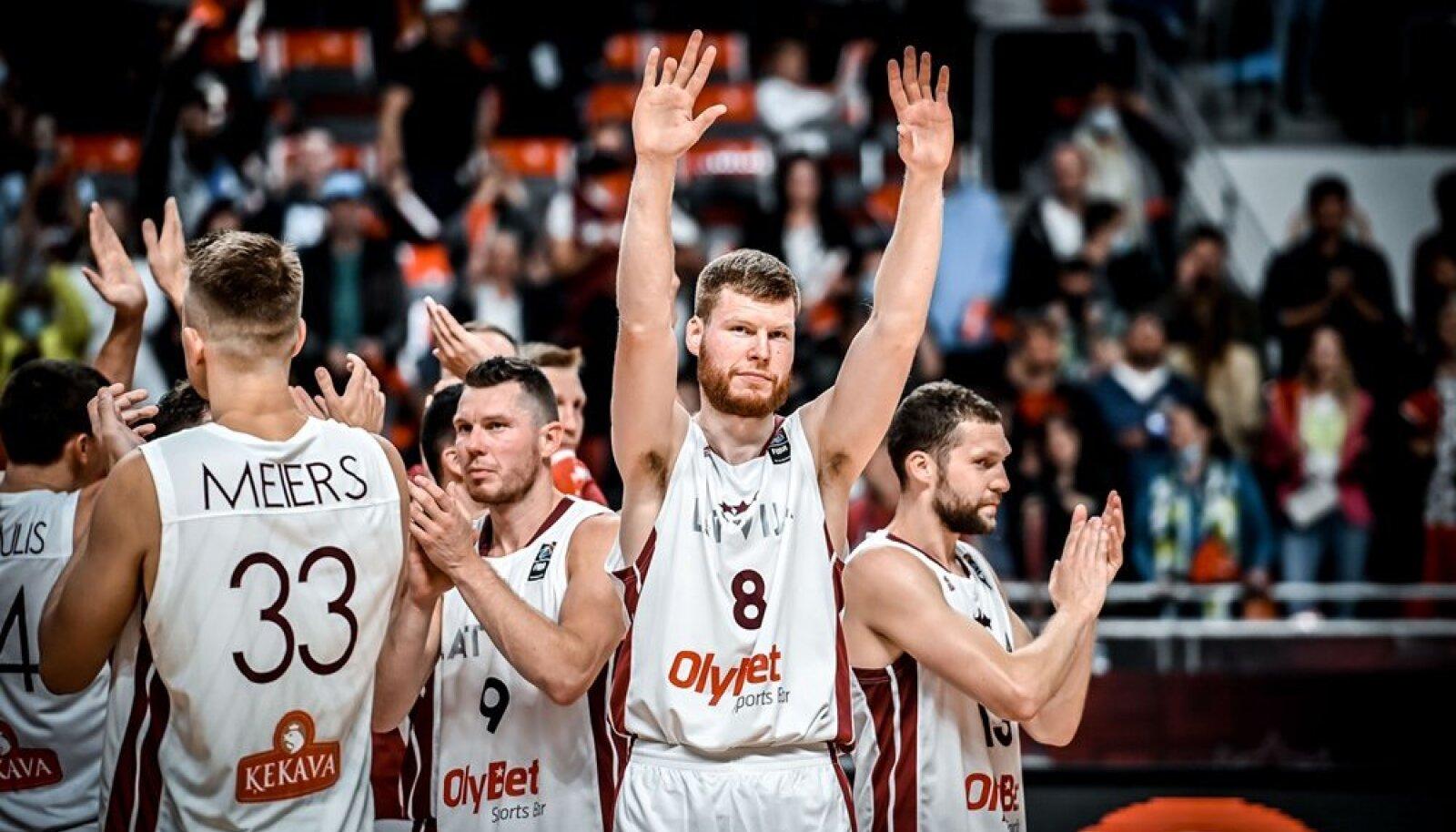 Davis Bertans aitas Läti koondise võidule