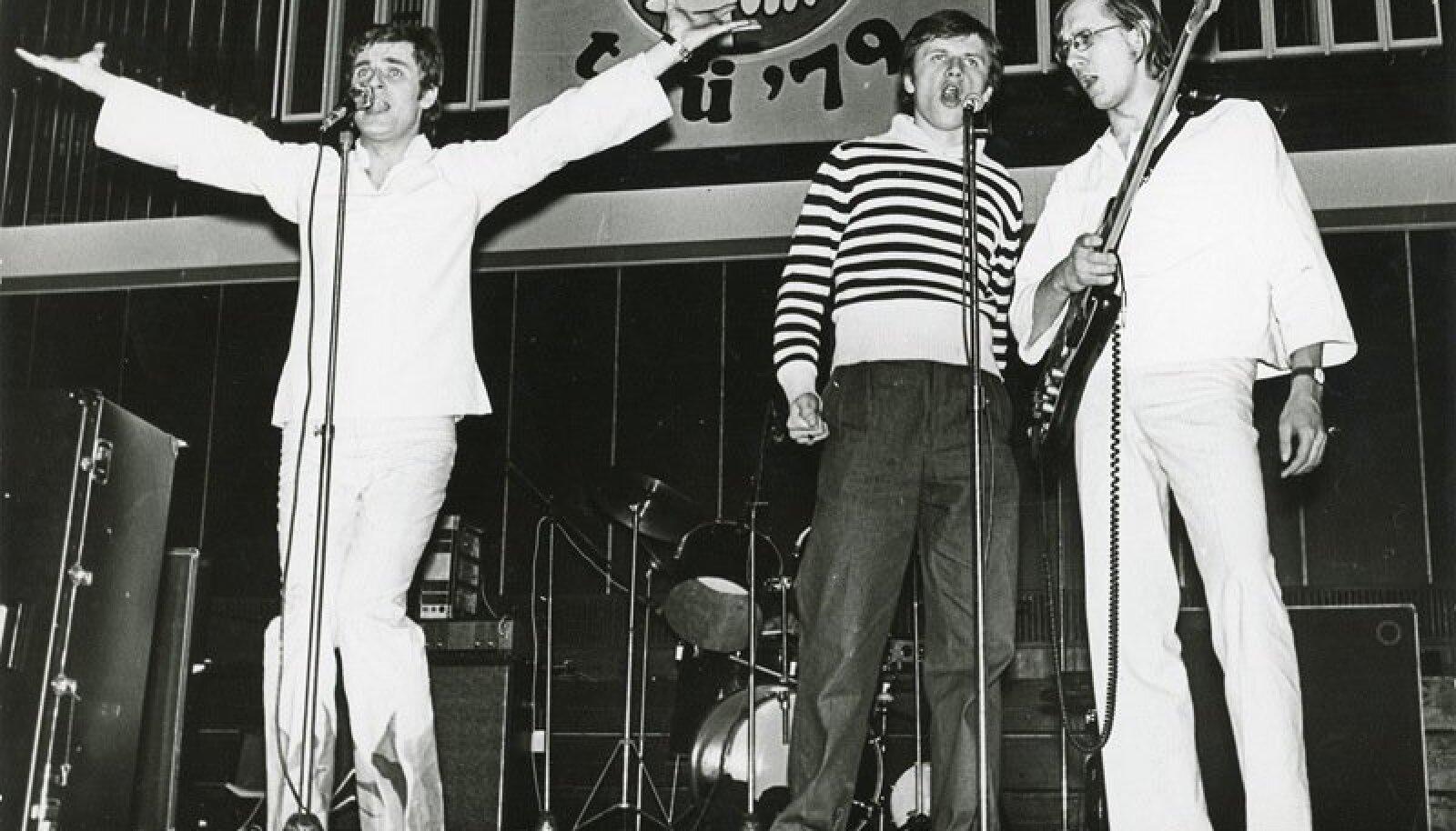 Ansambel Ruja. Tartu levimuusikapäevad '79 kontsert Vanemuise kontserdisaalis