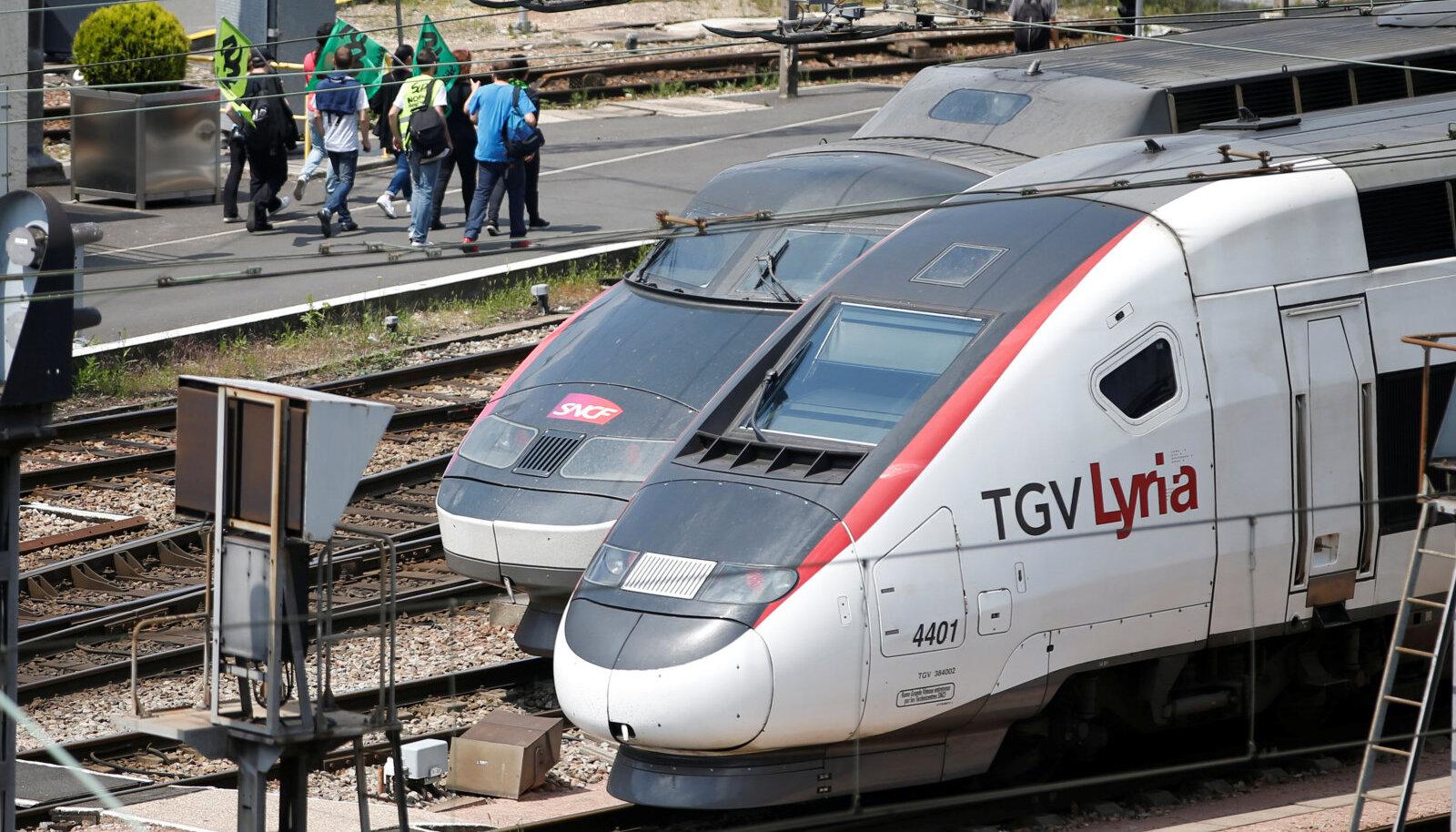 Prantsuse raudtee sihiks on kiirus 300 km/h.