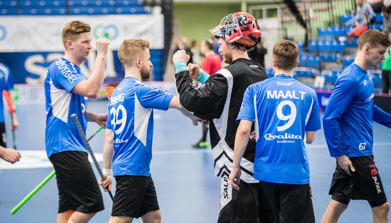 Saalihoki MM-valikturniir: Eesti meeskond