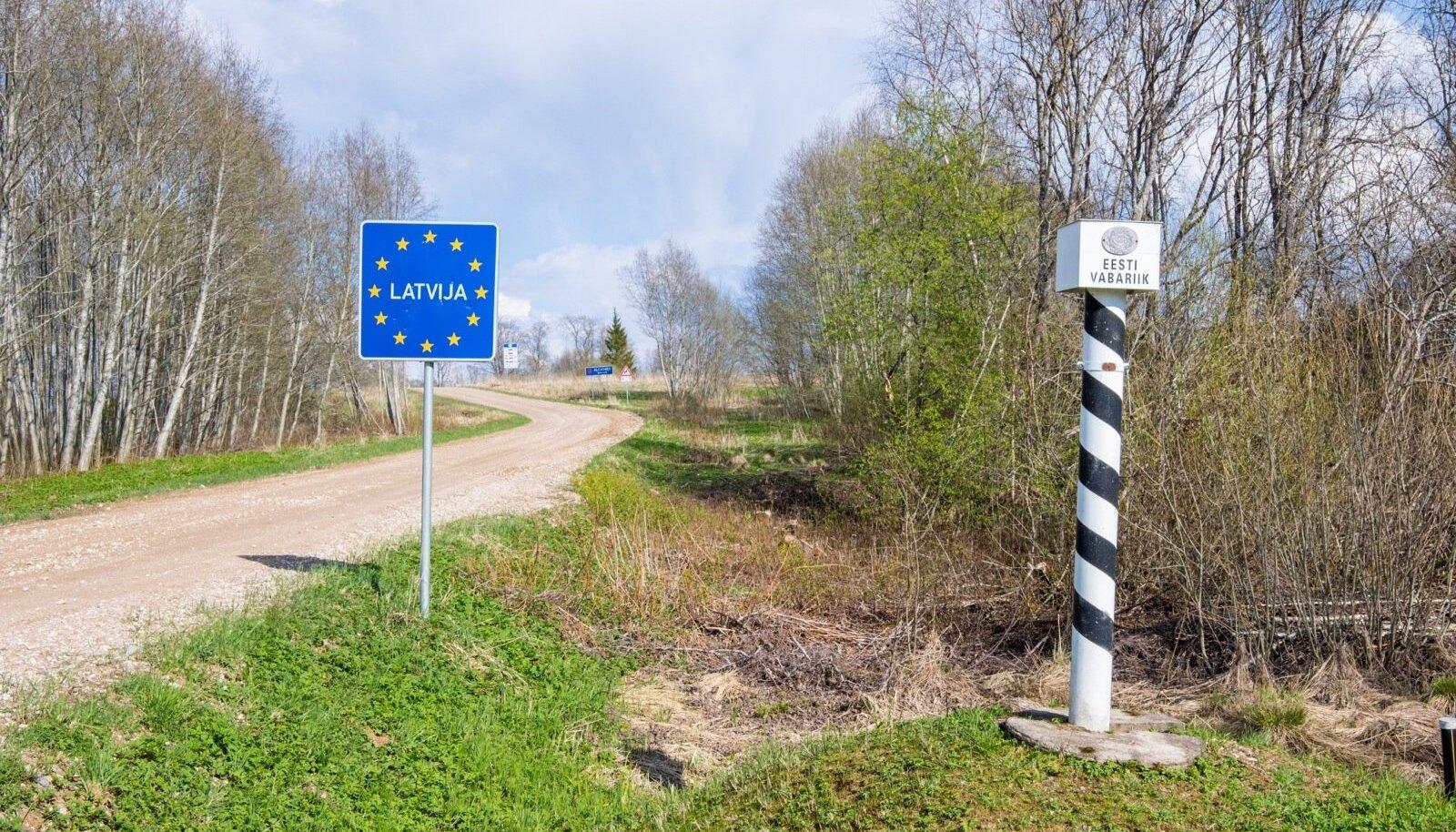 Eesti-Läti piir