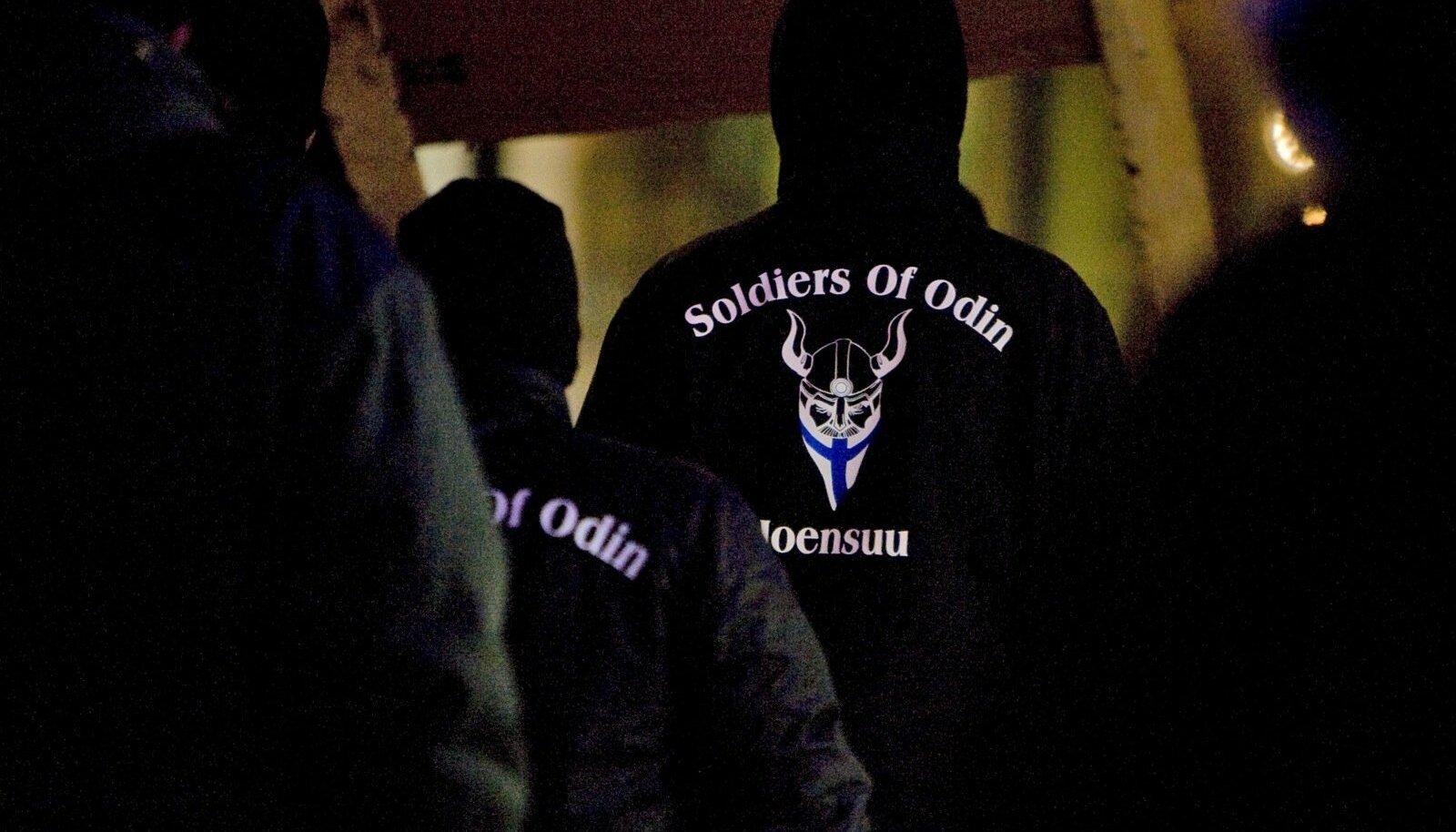 Sünnimaal Soomes on Odini sõdalastel pool tuhat aktiivset liiget.