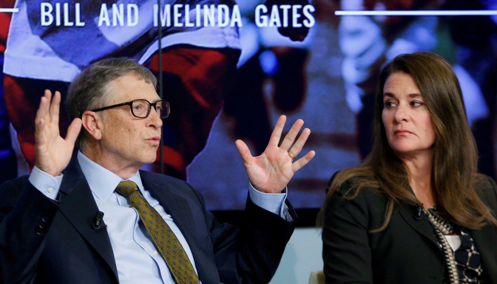 Bill ja Melinda Gates