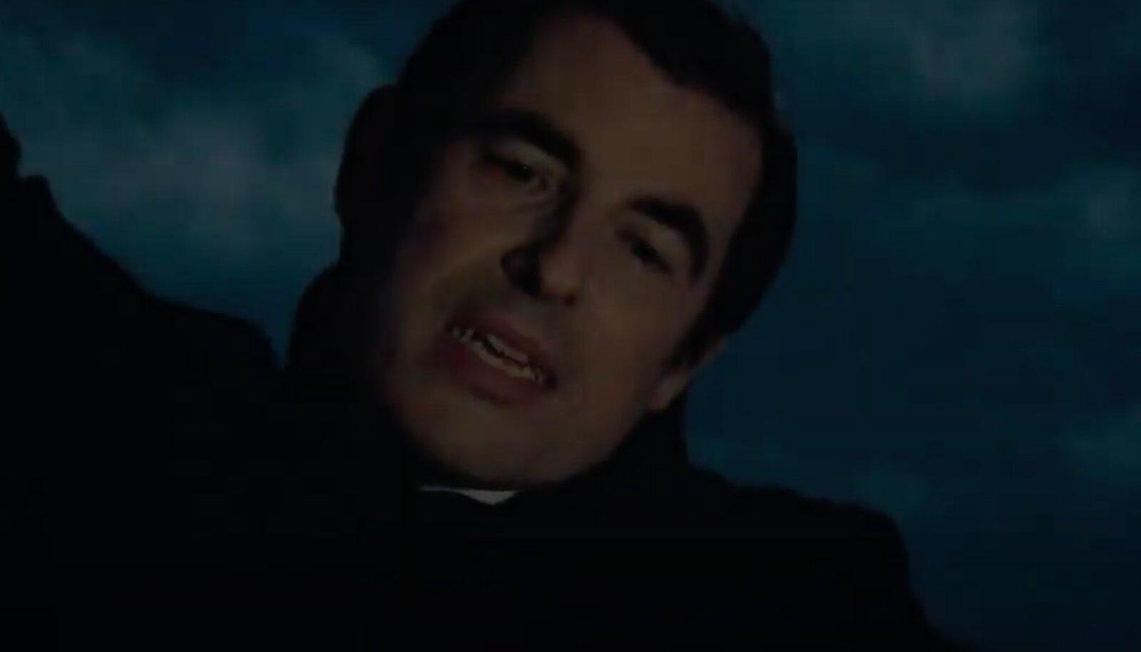 "Кадр из сериала от Netflix ""Дракула"""
