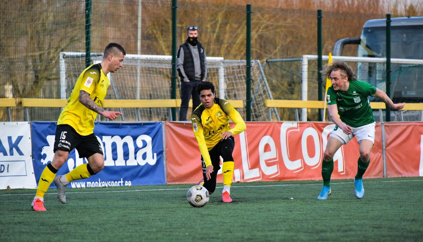 Premium liiga mäng Tallinna FC Flora - Viljandi JK Tulevik.