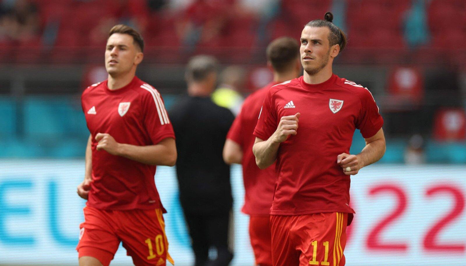 Aaron Ramsey ja Gareth Bale.