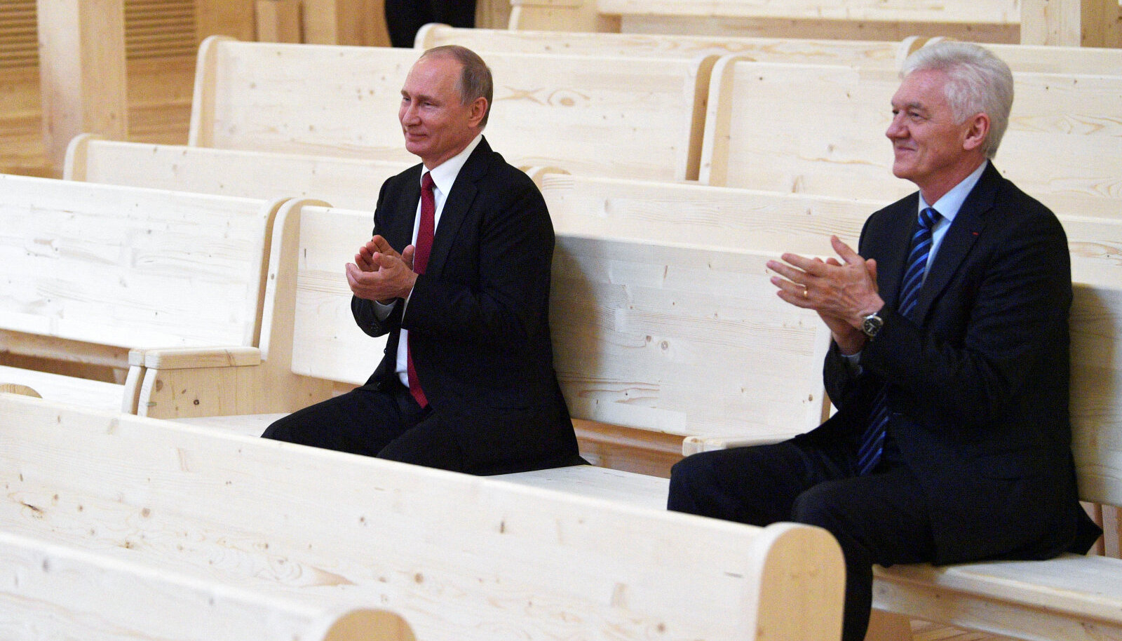 Vladimir Putin ja Gennadi Timtšenko